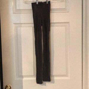 Grey spanx tights